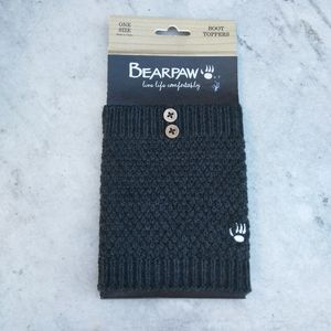 Bearpaw Gray Boot Toppers for Shoes